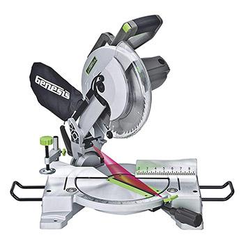 "Genesis GMS1015LC 10"" Corded Miter Saw"