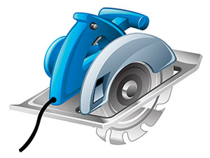 corded circular saw features