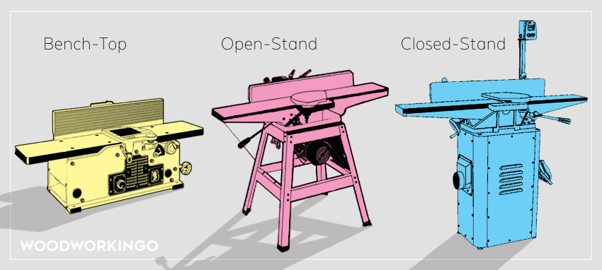 types of power jointers