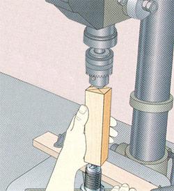 drill press lathe attachment