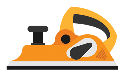 illustration of an electric planer